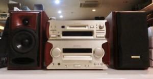 ケンウッドのオーディオ機器