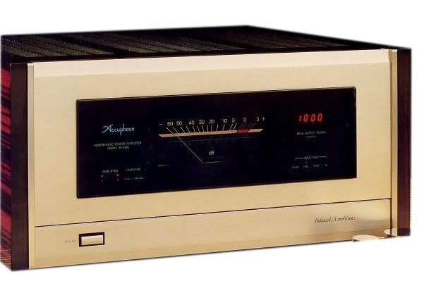 AccuphaseのM-1000
