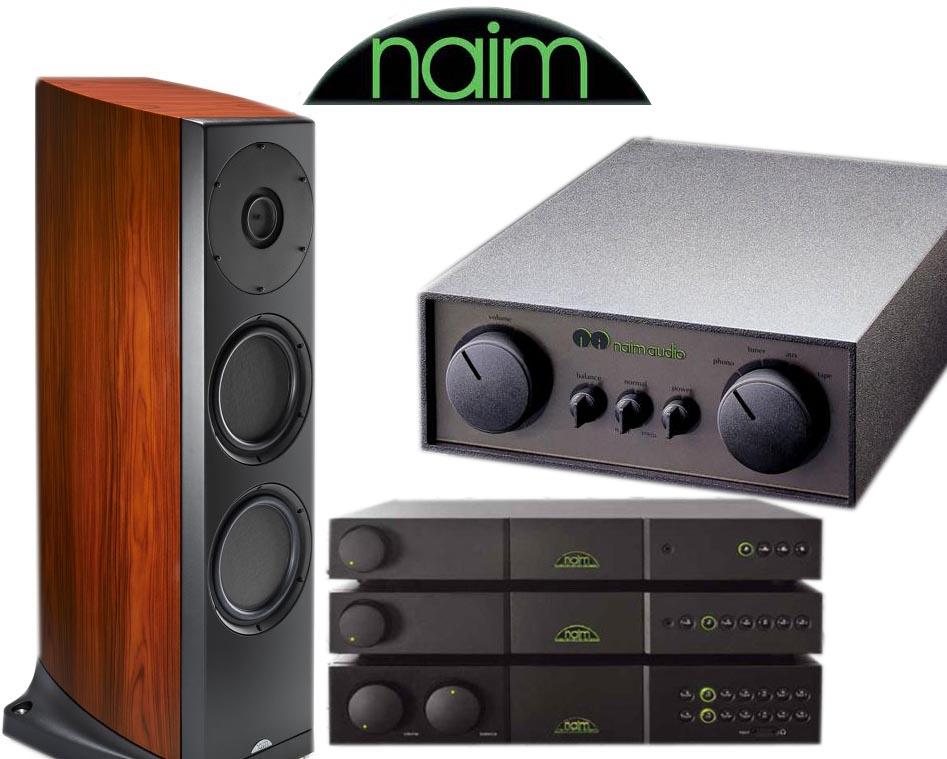 NAIM AUDIOの製品たち