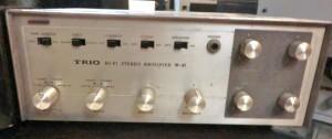 TRIOの真空管アンプW-41