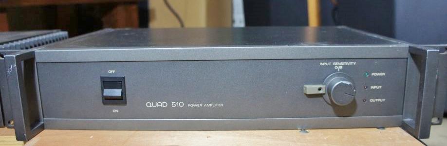 QUADの510のフロントパネル
